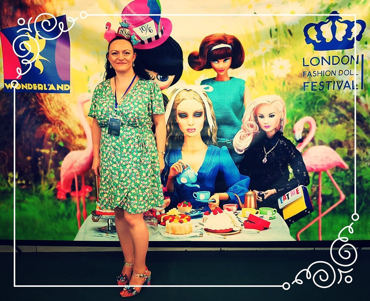 It's been a week since I had the privilege of attending the very first London Fashion Doll Festival. 2