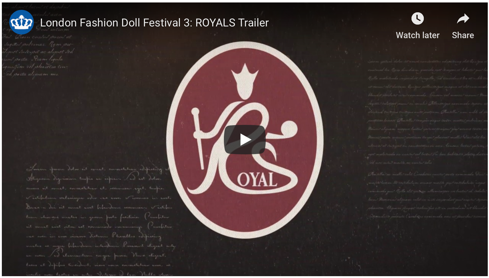 Our LFDF3: Royals Teaser Trailer 4