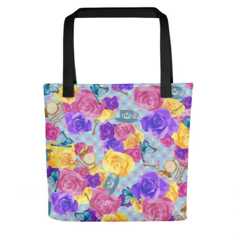 'WONDERLAND' All Over Print Tote Bag 3