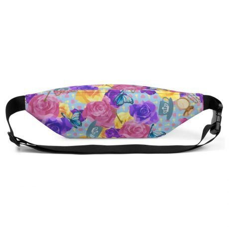 'WONDERLAND' Custom Print Fanny Pack/Bum Bag 6