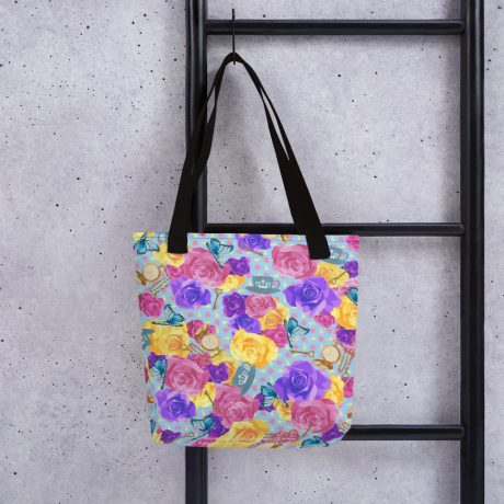 'WONDERLAND' All Over Print Tote Bag 2